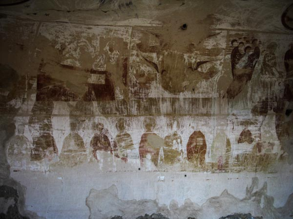 Davit-Gareja-refettorio-affreschi