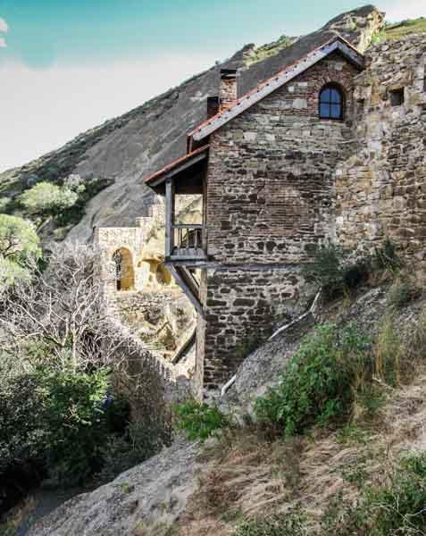 Davit-Gareja-ingresso-Monastero