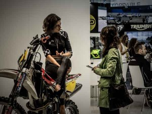 eicma 2013-peppina-intervista