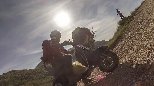 Tendata di Motociclismo All Travellers Danilka Livieri