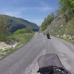 tendata-di-motociclismo-all-travellers-discesa-panorama
