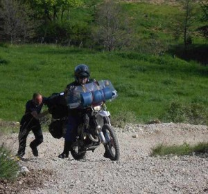 Tendata di Motociclismo All Travellers fiftymaniac