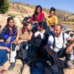 popolo curdo foto gruppo con donne