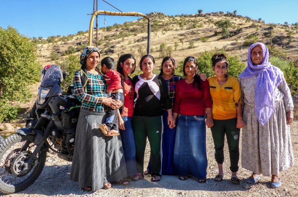 L'accoglienza del Popolo Curdo.Il (mio) Kurdistan ritrovato
