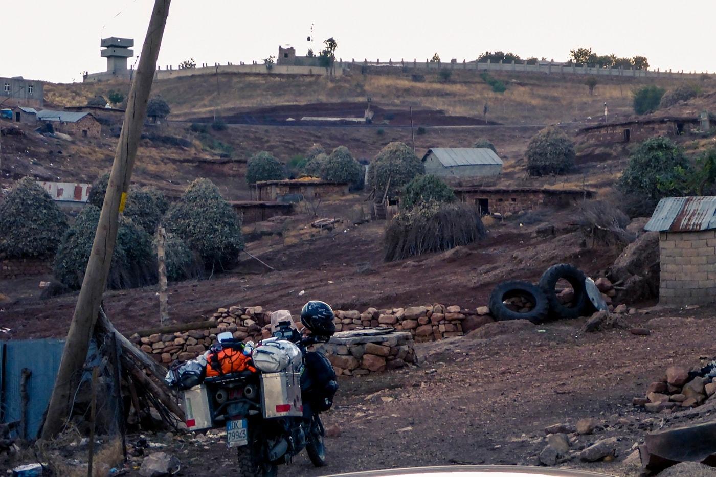 popolo curdo villaggio