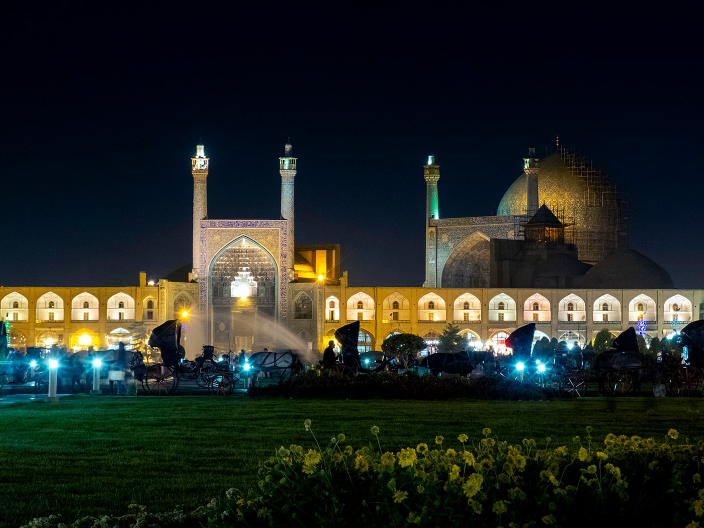 Isfahan di notte