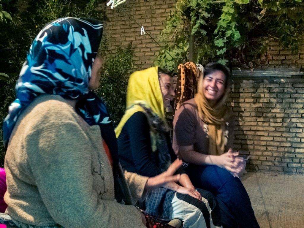 ospitalita iraniana donne
