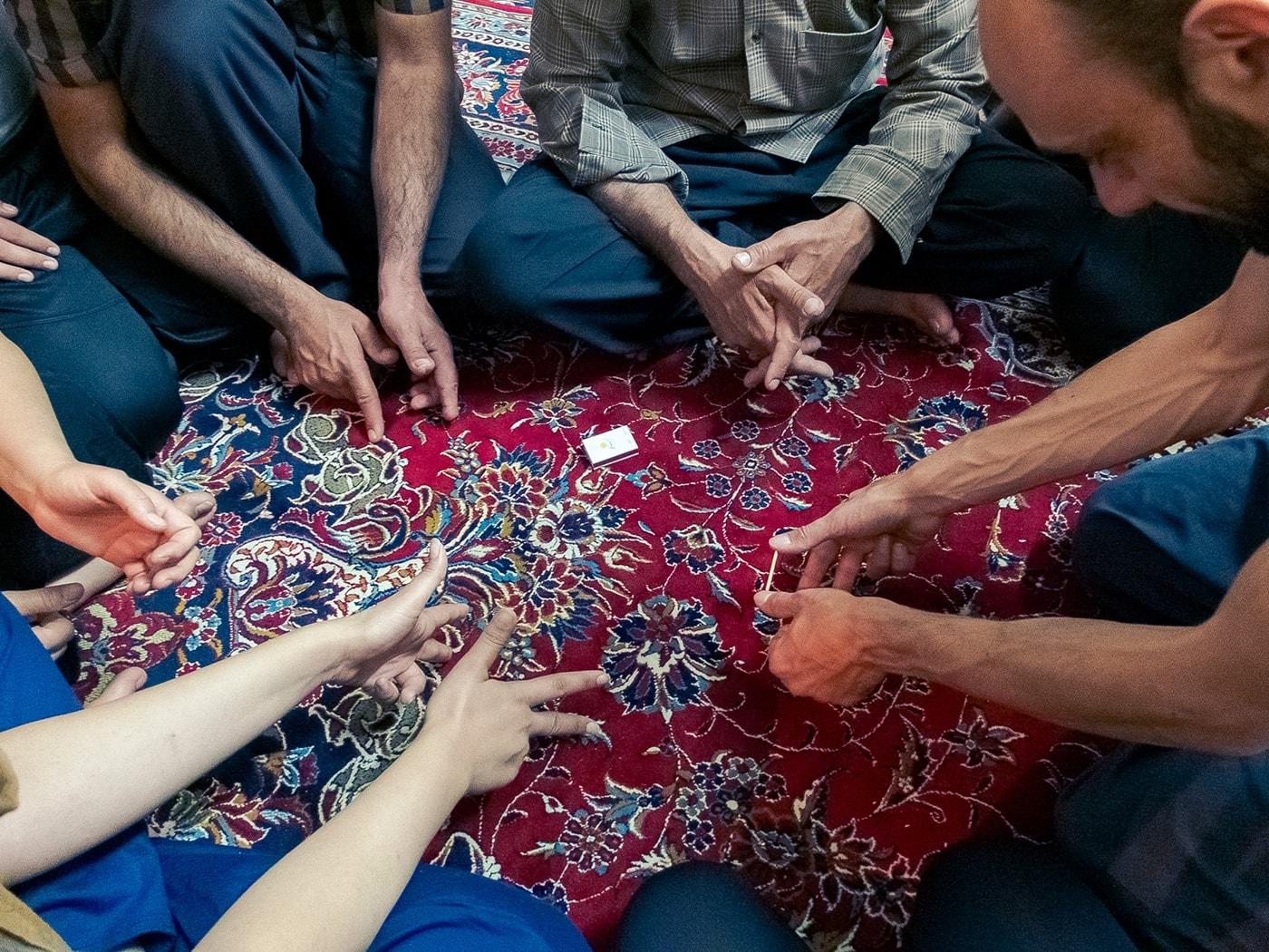 ospitalita iraniana giochi bambini