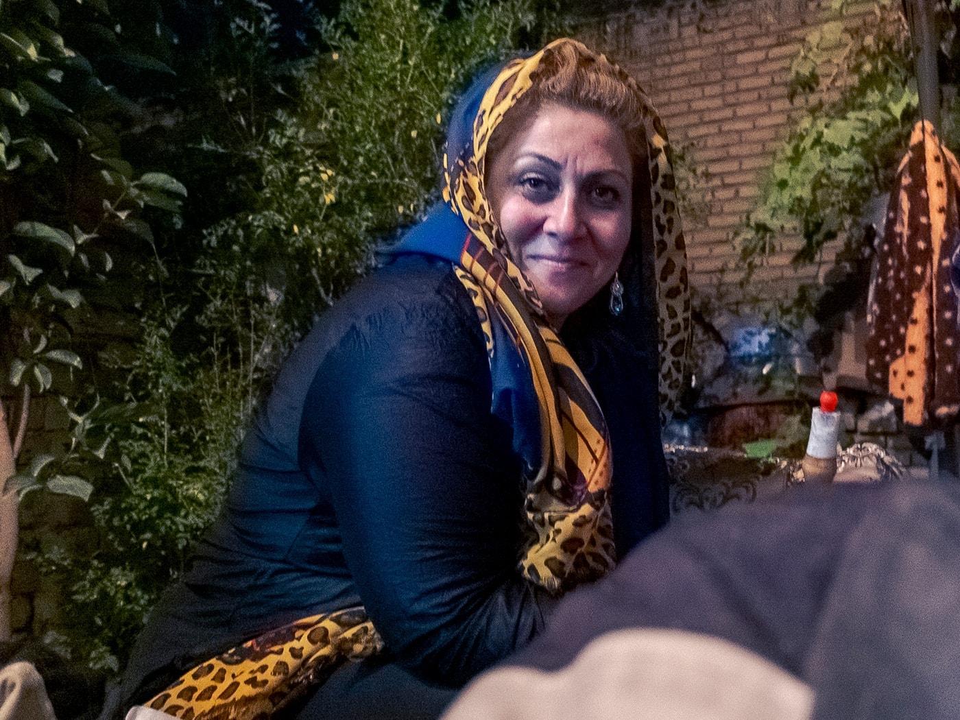 ospitalita iraniana la strega