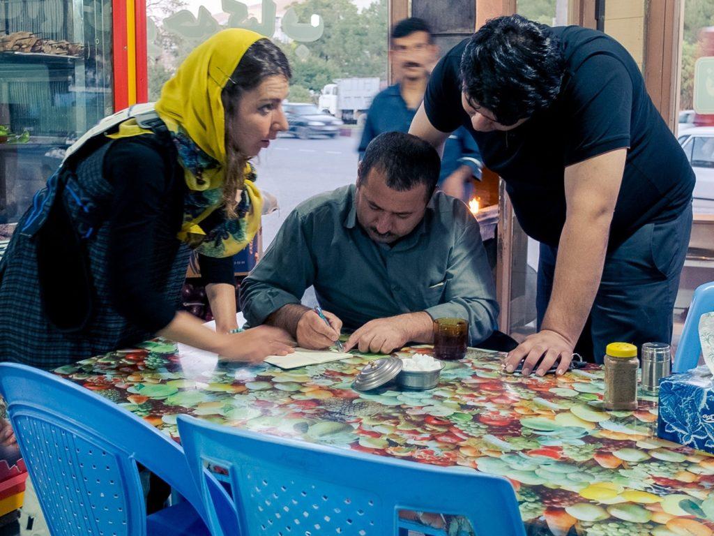 ospitalita iraniana lezioni farsi