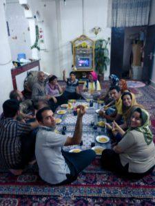 ospitalita iraniana spaghettata