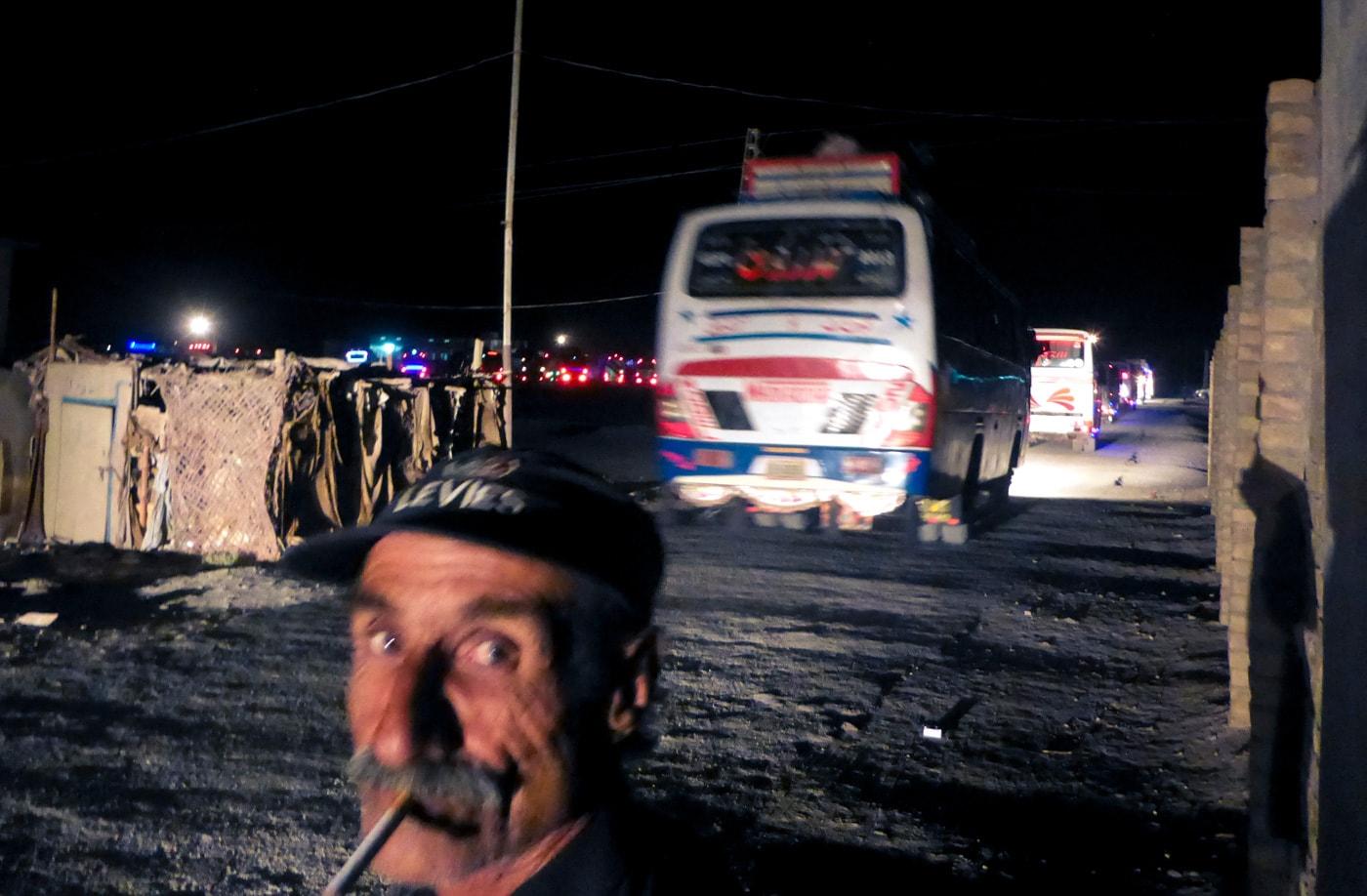 la scorta autobus polizia