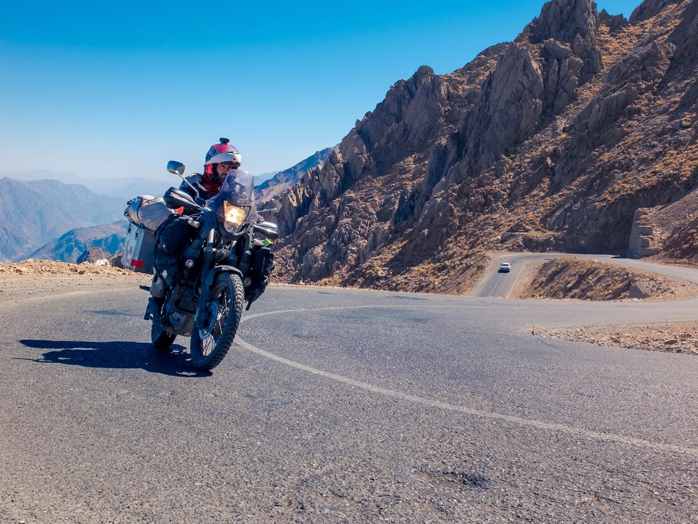 problemi in iran howraman strada montagna