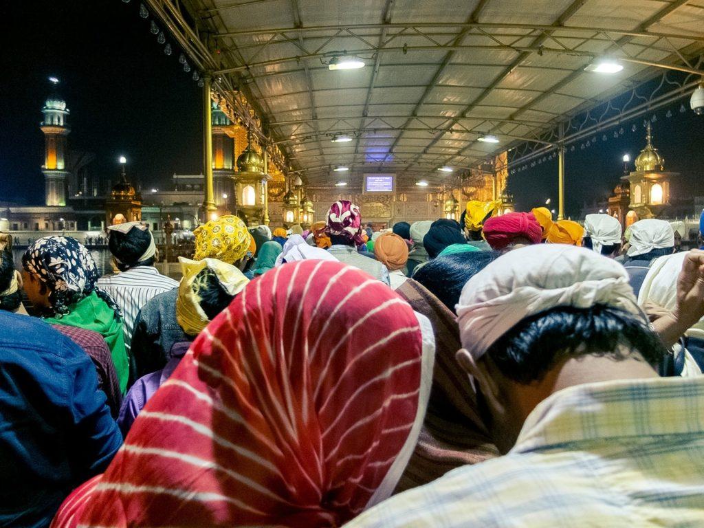 viaggio in india amritsar pellegrini tempio