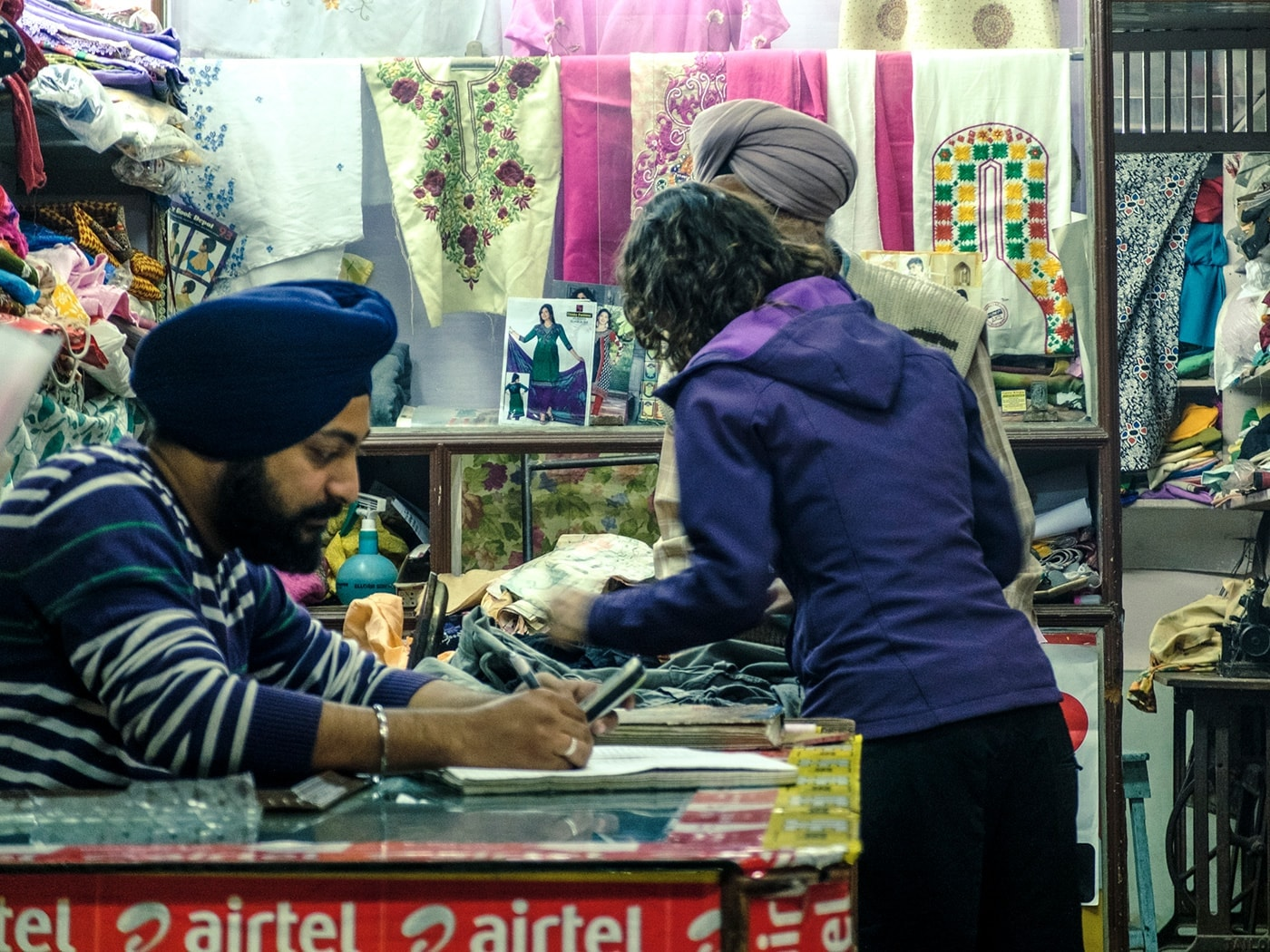 viaggio in india sikh turbante