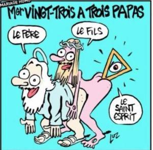 Charlie Hebdo trinità