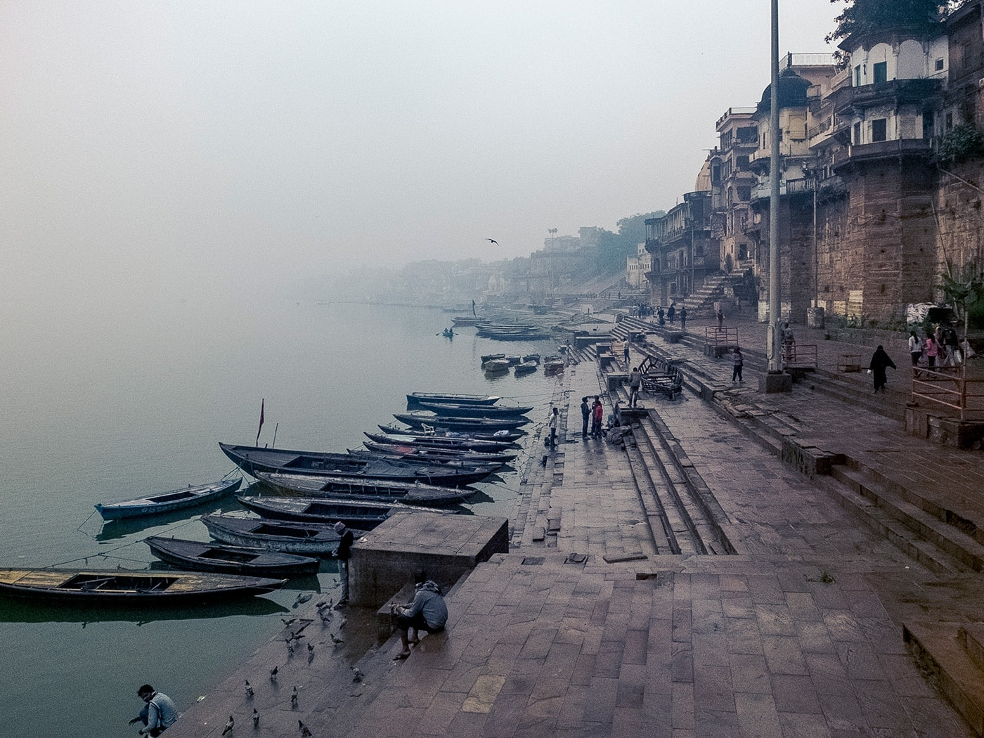 cultura indiana varanasi ghat