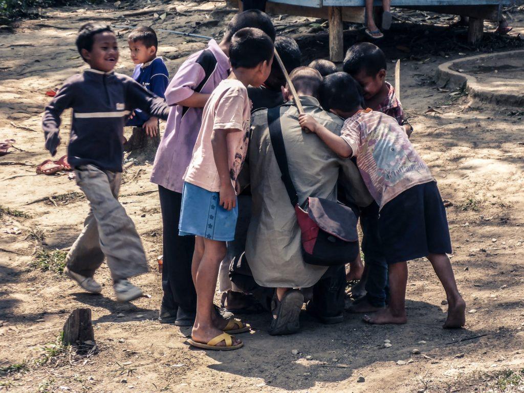 rifugiati birmani children of the forest accoglienza