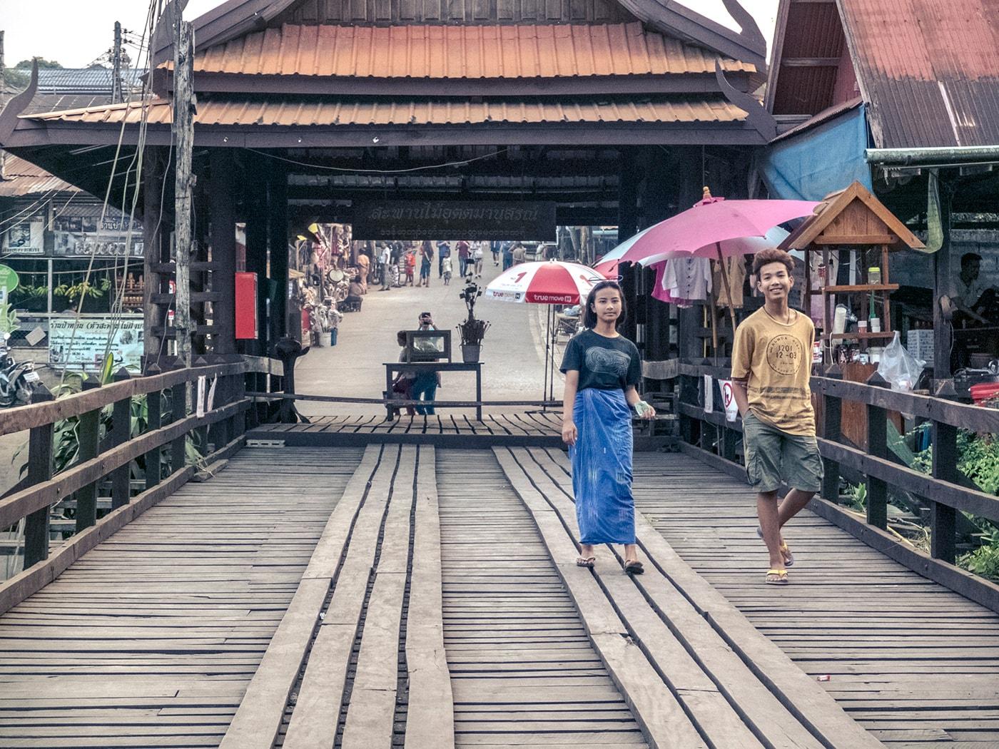 rifugiati birmani coppia