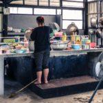 rifugiati birmani sangkhlaburi cucina centro
