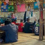 rifugiati birmani sangkhlaburi scuola lezione
