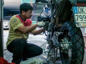 thailandia in moto bangkok officina