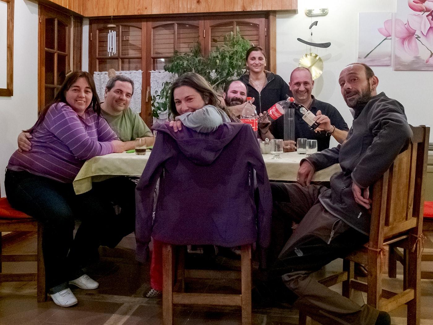 ospitalita patagonia in moto
