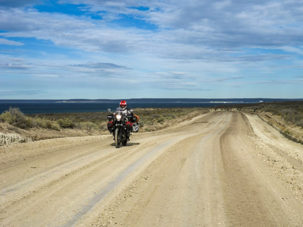 patagonia in moto la peninsula valdez