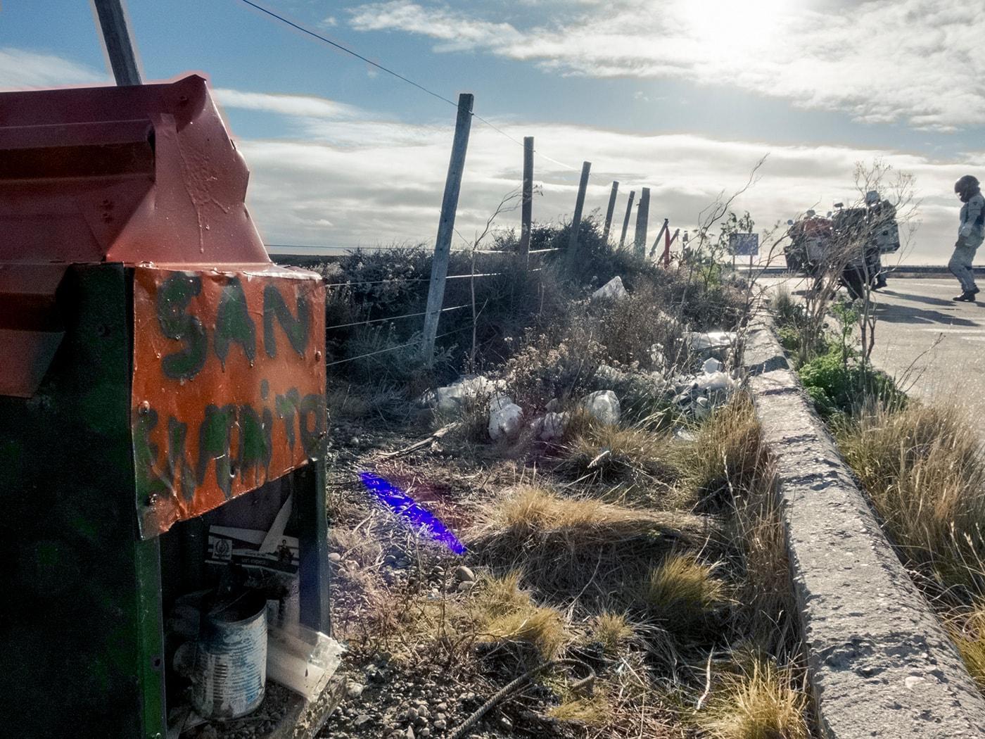 Capilla di san expedito in patagonia