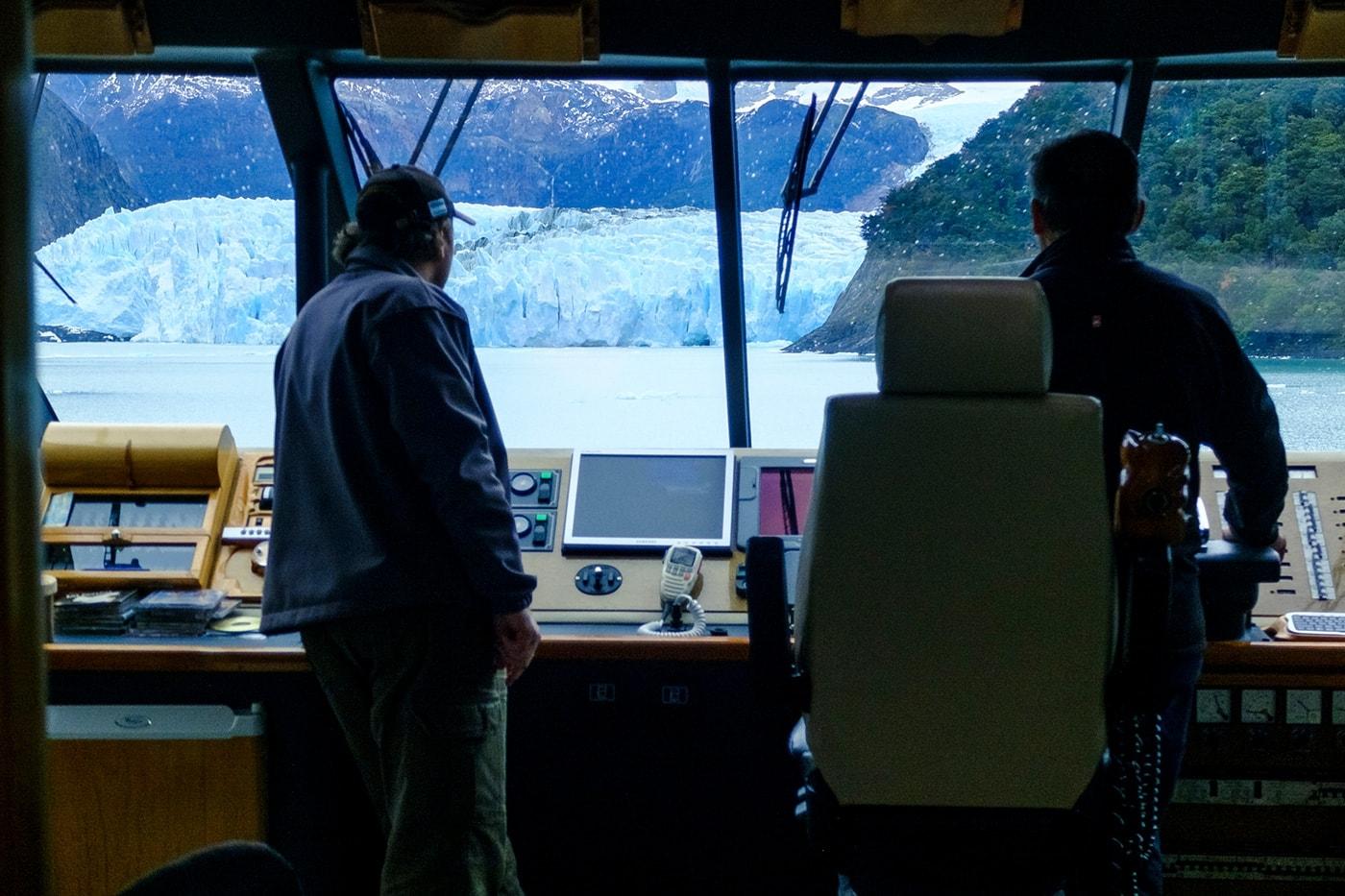 cabina catamarano lago argentino