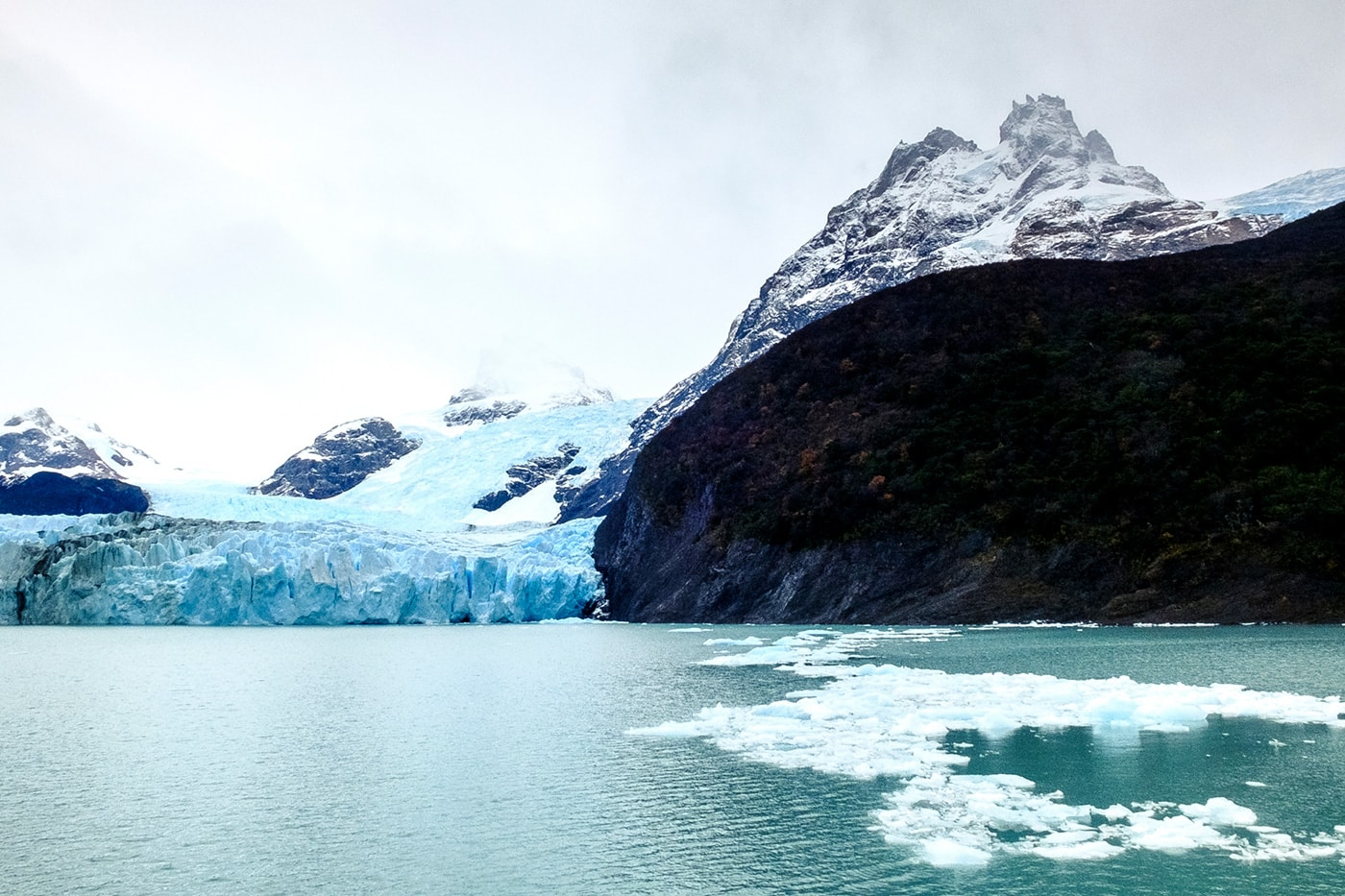 il ghiacciaio upsala
