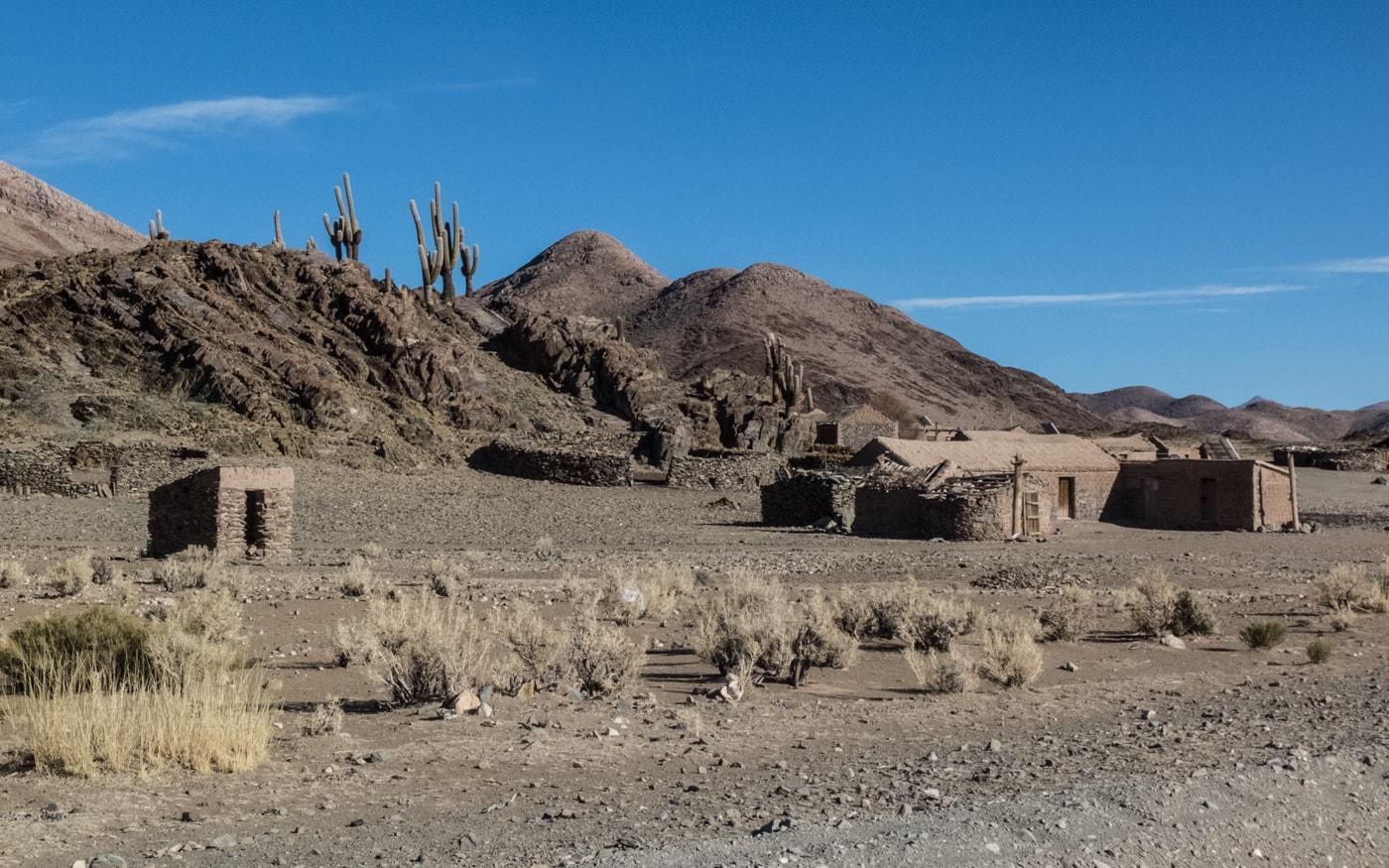 case di fango deserto argentina del nord