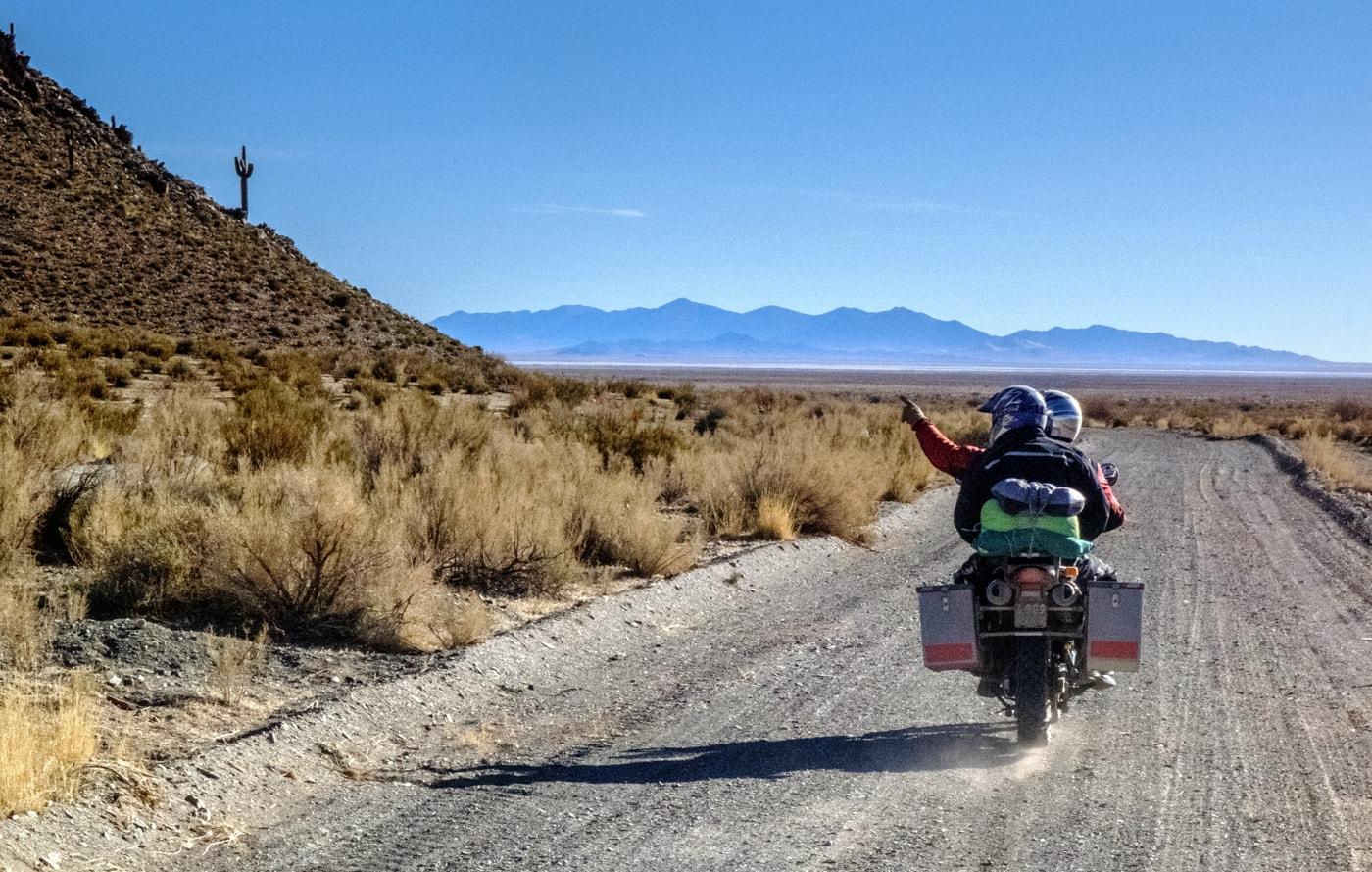 moto deserto argentina del nord