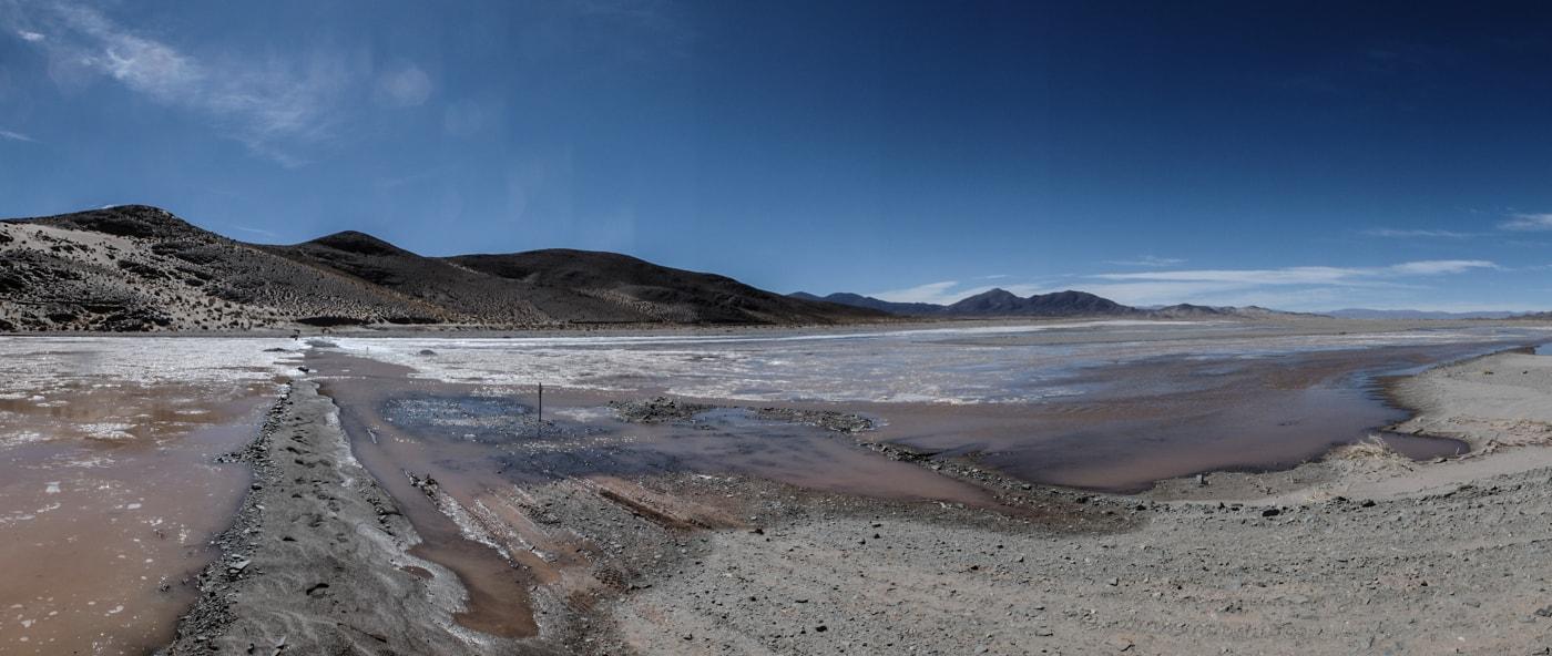 fiume ghiacciato argentina del nord