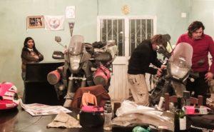manutenzione moto in guest house