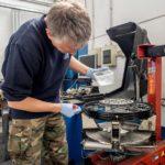 conversione tubeless delle ruote a raggi grasso siliconico