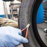 conversione tubeless delle ruote a raggi rimozione residui