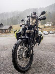 fondo bagnato pneumatici moto anlas capra r
