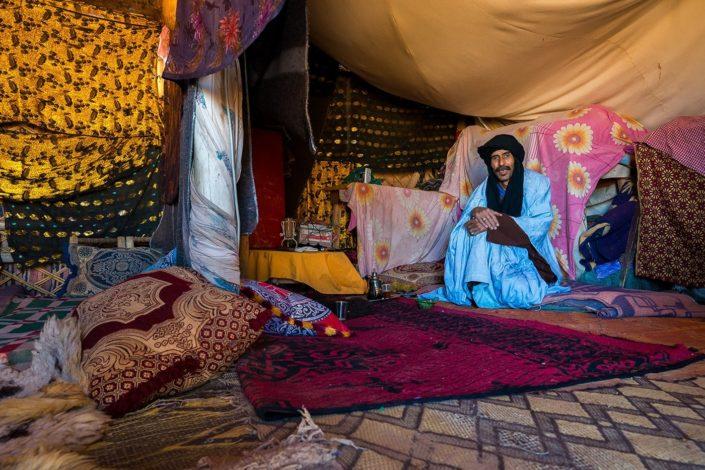 Un incontro nell'Erg Chegaga, Alì il Tuareg